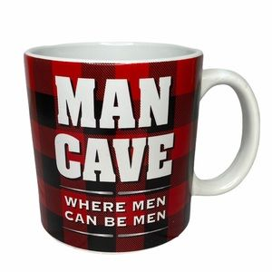 BAY ISLAND Man Cave Where Men Can Be Men Big Mug
